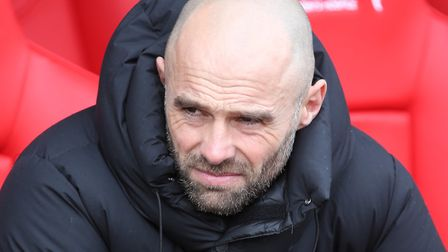 Rotherham United Manager Paul Warne before the Sky Bet Championship match at the New York Stadium, R