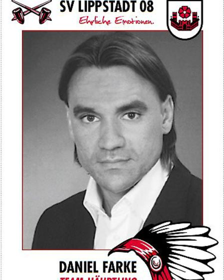 An autograph card of Daniel Farke that Lippstadt fans were given in 2015 Picture: SV Lippstadt 08