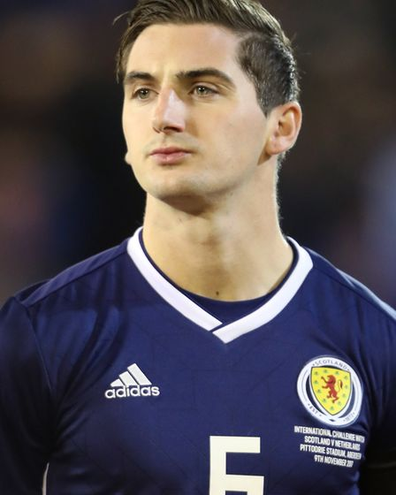 Norwich City midfielder Kenny McLean has five Scotland caps Picture: Andrew Milligan PA Wire/PA