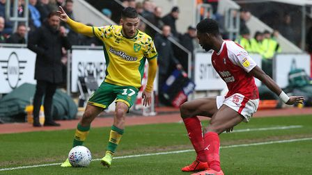 Emi Buendia - the man with the X factor for Norwich City Picture: Paul Chesterton/Focus Images Ltd