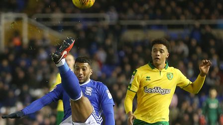 Jamal Lewis has not looked back since making his full Championship debut at Birmingham City in 2017