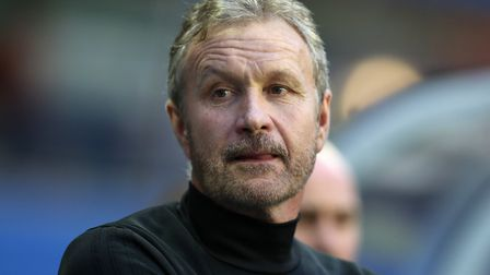 Ex-Norwich City defender Kevin Bond, pictured in August 2017 during his time as assistant manager at