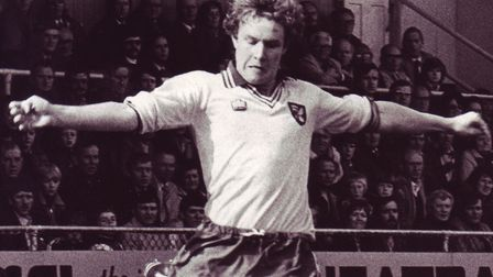 Kevin Bond made 161 appearances for Norwich City between 1976 and 1981 Photo: Archant Library