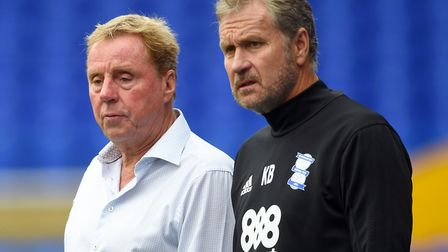 Kevin Bond, right, has often been part of Harry Redknapp's coaching teams Picture: Joe Giddens/PA