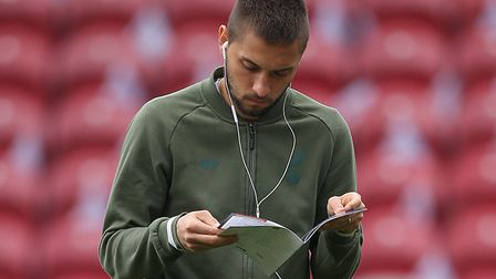 Moritz Leitner has had to be patient for his Norwich City chances since returning from injury Pictur