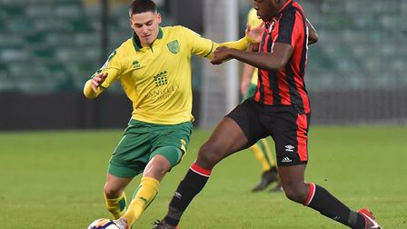 Norwich City's young midfielder Savvas Mourgos has signed a new longer term deal Picture: Nick Butch