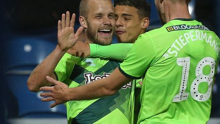 Teemu Pukki scored the only goal as Norwich City beat QPR at Loftus Road in September Picture: Paul