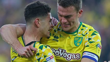 Christoph Zimmermann has forged a strong partnership with Ben Godfrey at the heart of Norwich City's
