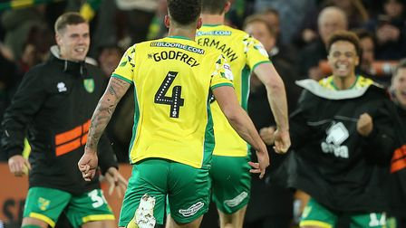 Norwich City had a memorable home win over Reading snatched away from them on Wednesday Picture: Pau