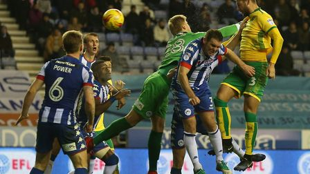 Ajax loanee Mitchell Dijks headed an equaliser as Norwich drew 2-2 during their last trip to Wigan,