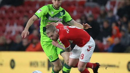 Marco Stiepermann on the hunt against Middlesbrough Picture: Paul Chesterton/Focus Images Ltd