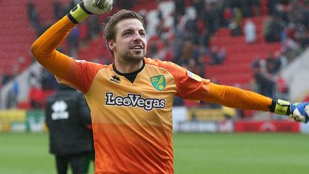 Tim Krul kept a clean sheet in last week's 1-0 triumph at Middlesbrough Picture: Paul Chesterton/Foc