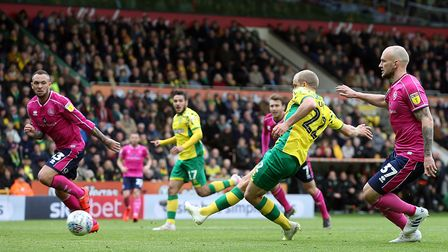 Teemu Pukki's short goal drought was brought to an end when he fired Norwich City 3-0 up against QPR