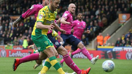 Teemu Pukki smashed in his 26th league goal of the season when he completed the 4-0 rout of QPR with