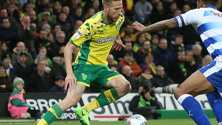 Marco Stiepermann is among the Norwich City players nursing minor knocks after the 2-2 draw with Rea