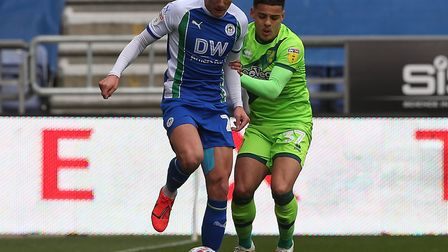 Norwich City's teenage defender Max Aarons has handled the pressure of a promotion push Picture: Pau