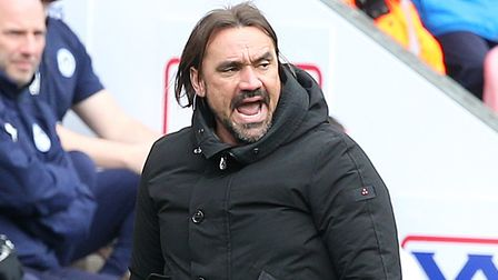 Daniel Farke knows Norwich City must stay in the moment to clinch promotion Picture: Paul Chesterton