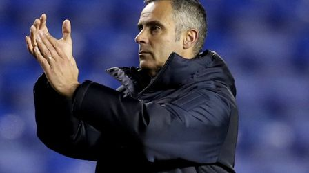 Jose Gomes took over at Reading in December Picture: Bradley Collyer/PA