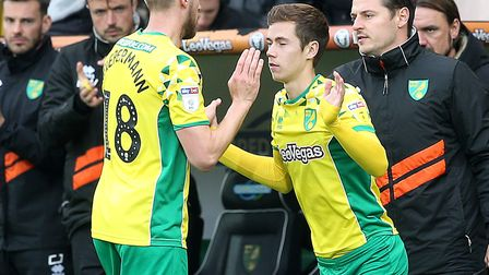 Todd Cantwell could be in the frame to replace the suspended Emi Buendia for Norwich City's Champion