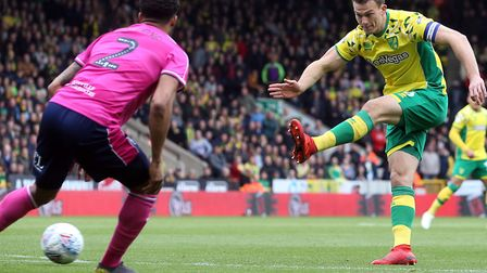 Christoph Zimmermann has grasped his chance to lead Norwich City's Championship promotion push Pictu