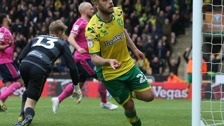 Teemu Pukki was back in the goals for Norwich City against QPR Picture: Paul Chesterton/Focus Images
