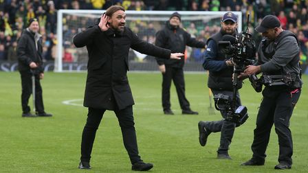 Daniel Farke and his Norwich City team have impressed the Sky TV pundits Picture: Paul Chesterton/Fo