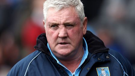 Steve Bruce took over as manager of Sheffield Wednesday in January Picture: PA