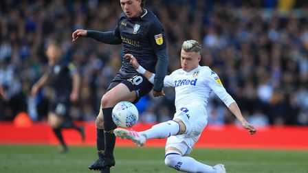 Sheffield Wednesday's play-off hopes were dealt a blow by a 1-0 defeat at Leeds on Saturday Picture: