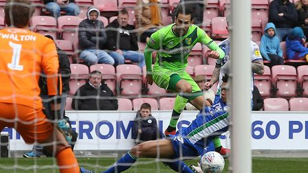Mario Vrancic impressed as a substitute during Norwich City's draw at Wigan Picture: Paul Chesterton