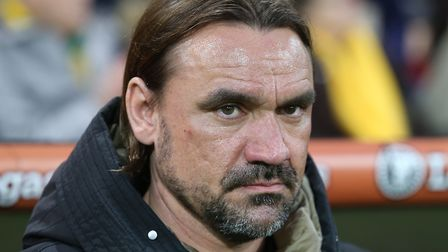 Norwich City chief Daniel Farke sounded a positive note at his pre-match press call Picture by Paul