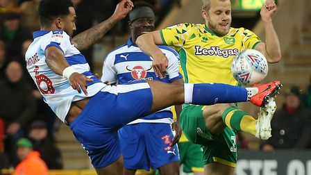 Reading's defensive mindset made life tough for Norwich City Picture: Paul Chesterton/Focus Images L