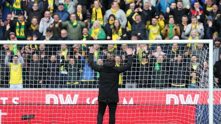 Head coach Daniel Farke showed his appreciation for the 5,300 travelling Norwich City fans at Wigan