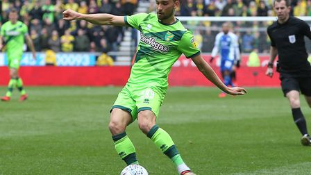 Moritz Leitner impressed as a substitute for Norwich City at Wigan