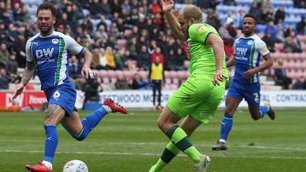 Teemu Pukki scored his 27th league goal of the season when he equalised at Wigan for City