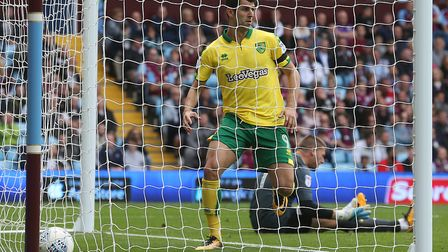 Nelson Oliveira's goal brought City to 3-2 behind at Villa in August 2017, only for Conor Hourihane