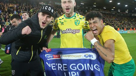 Norwich City have one more hurdle to clear after sealing promotion Picture: Paul Chesterton/Focus Im