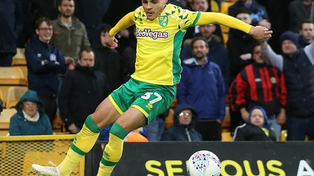 Max Aarons is already being touted with interest from the big boys in the Premier League Picture: Pa