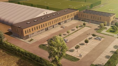The new academy facilities at Colney are close to becoming reality for Norwich City, with their open