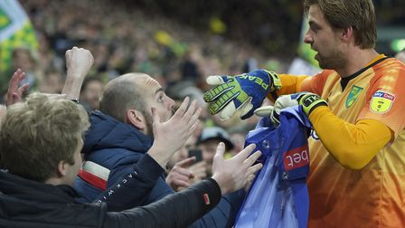 Tim Krul - a brave signing that worked out so well for Norwich City. Picture: Alan Stanford/Focus I