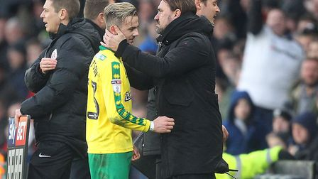 James Maddison - a popular figure whose sale to Leicester proved beneficial in the end to Norwich Ci