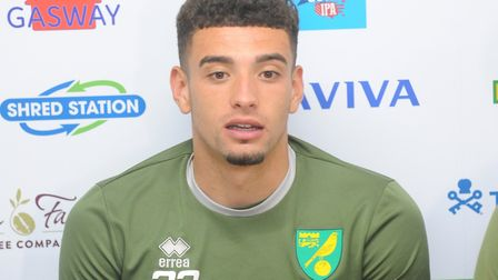 Norwich City defender Ben Godfrey began looking ahead to the Premier League when speaking to the med
