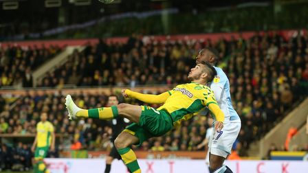 Emi Buendia's spectacular overhead kick was well saved as Norwich City beat Blackburn to seal promot