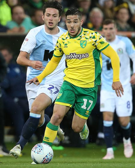 Emi Buendia leaving opponents for dust has been a regular and wonderful sight for Norwich City fans