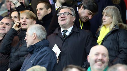 Former Norwich City chairman - and still enthusiastic fan - Ed Balls Picture: Paul Chesterton/Focus