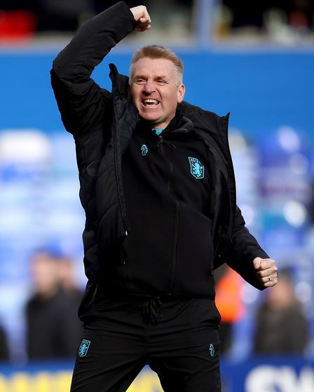 Aston Villa boss Dean Smith Picture: PA
