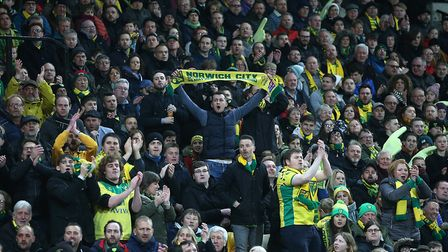 Keep the faith - home fans get behind their side Picture: Paul Chesterton/Focus Images Ltd