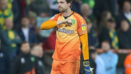Tim Krul made two important saves during City's 2-2 draw with Sheffield Wednesday Picture: Paul Ches