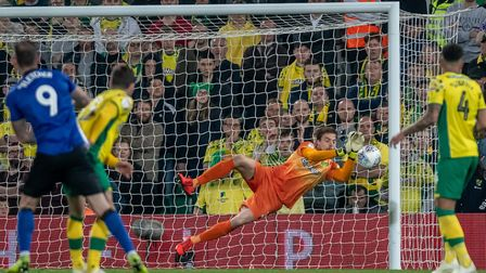 Tim Krul denied Steven Fletcher with a fine save Picture: Matthew Usher/Focus Images