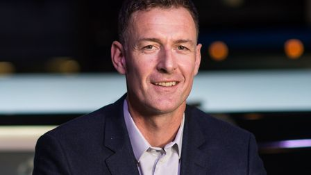 Former Norwich City striker Chris Sutton works as a football pundit, including for the BBC and BT Sp