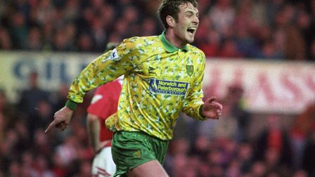 Chris Sutton scored 43 goals in 126 games for Norwich City Picture: PA